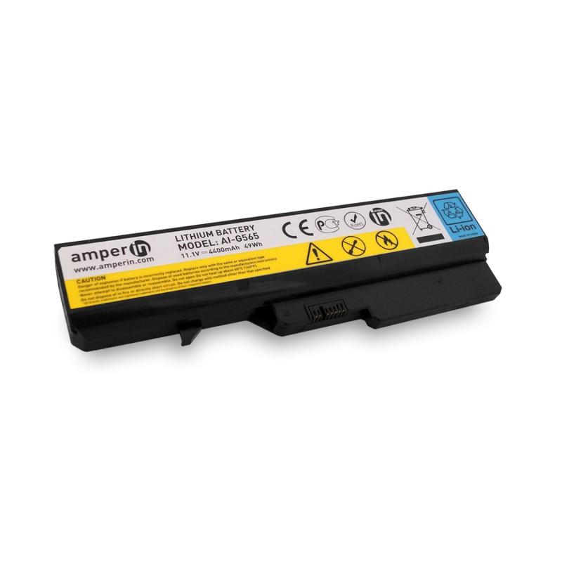 Аккумуляторная батарея AI-G565 для ноутбука Lenovo IdeaPad G, Z Series 11.1V 4400mAh (49Wh) Amperin