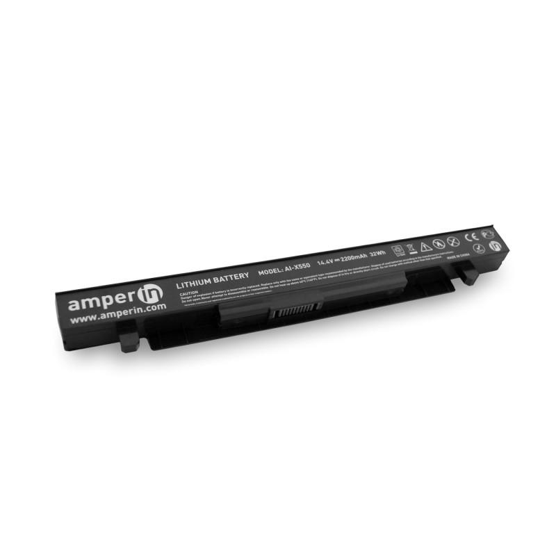 Аккумуляторная батарея AI-X550 для ноутбука Asus A, Y, X, R, P, K, F  11.1V 2200mAh (24Wh) Amperin
