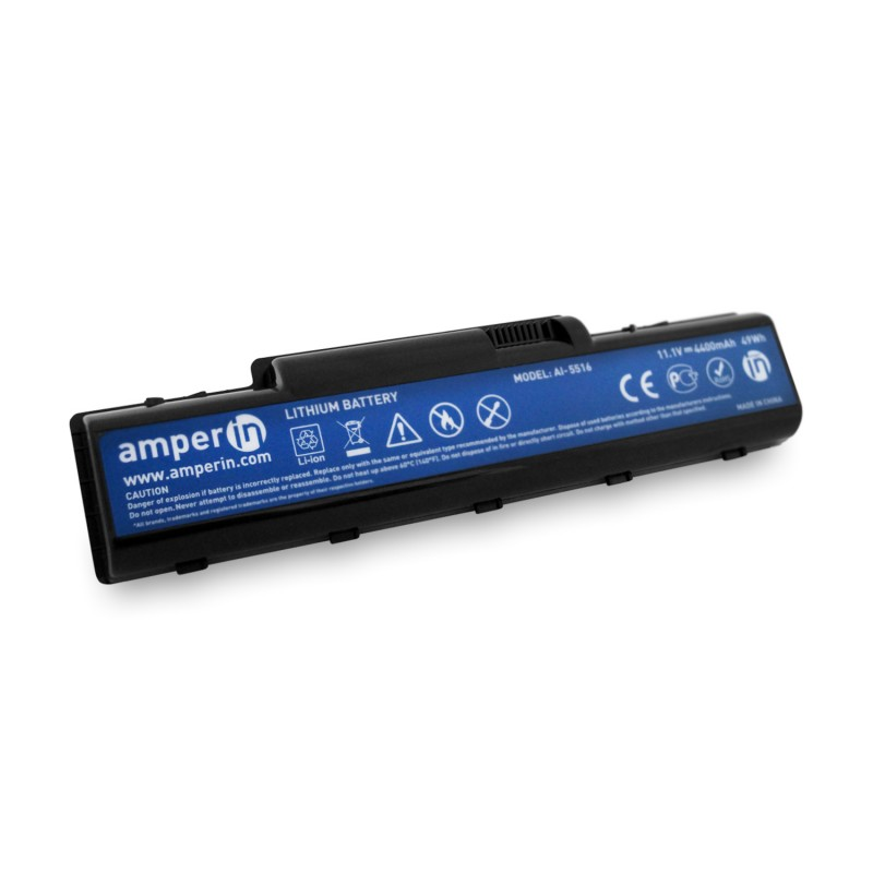 Аккумуляторная батарея AI-5516 для ноутбука Acer Aspire 4732, 5516 11.1V 4400mAh (49Wh) Amperin