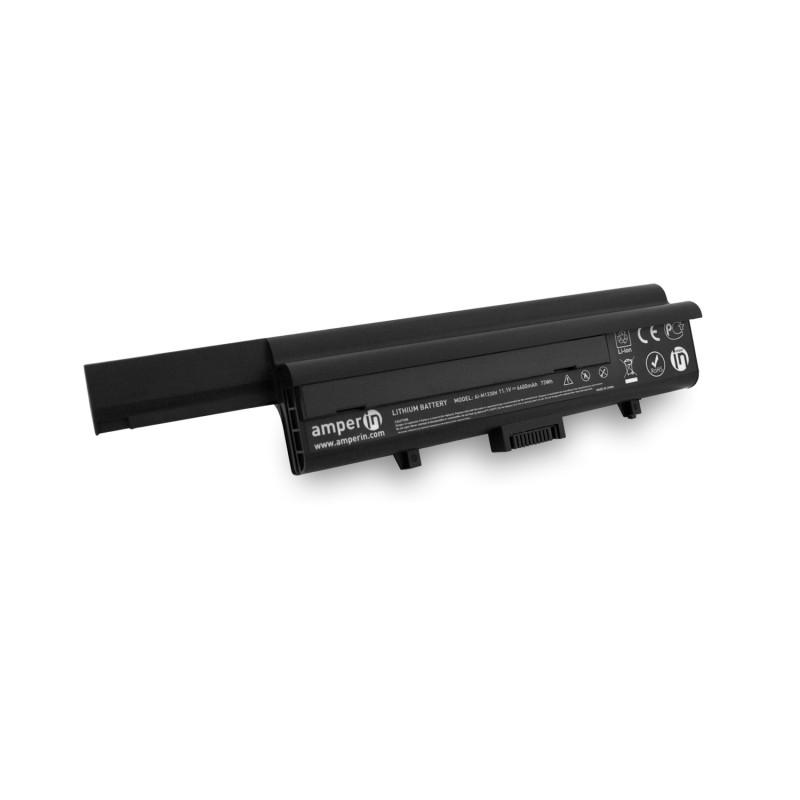 Аккумуляторная батарея AI-M1330H для ноутбука Dell XPS M1330 11.1V 6600mAh (73Wh) Amperin