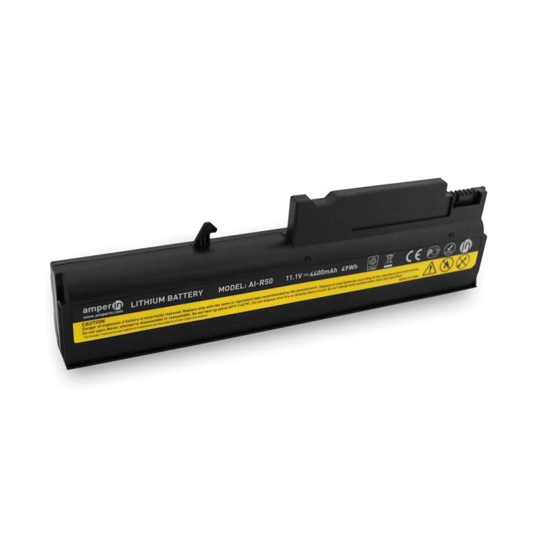 Аккумуляторная батарея AI-R50 для ноутбука Lenovo ThinkPad R50, T40 11.1V 4400mAh (49Wh) Amperin