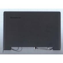 Крышка в сборе для ноутбука Lenovo Ideapad S210 черная