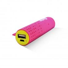 Внешняя аккумуляторная батарея AI-TUBE P 3100mAh (11Wh) розовая Amperin