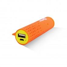 Внешняя аккумуляторная батарея AI-TUBE O 3100mAh (11Wh) оранжевая Amperin