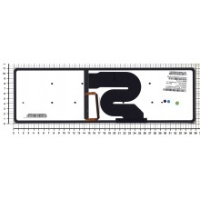 Клавиатура для ноутбука Acer 8951, 5951 черная с подсветкой