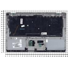 Клавиатура для ноутбука Sony SVP11 серебристая топ-панель