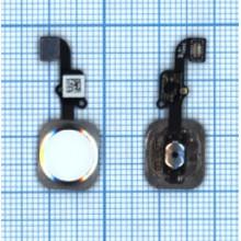 Шлейф кнопки Home для iPhone 6 серебристая