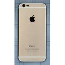 Задняя крышка для iPhone 6 (4.7) Gold AAA