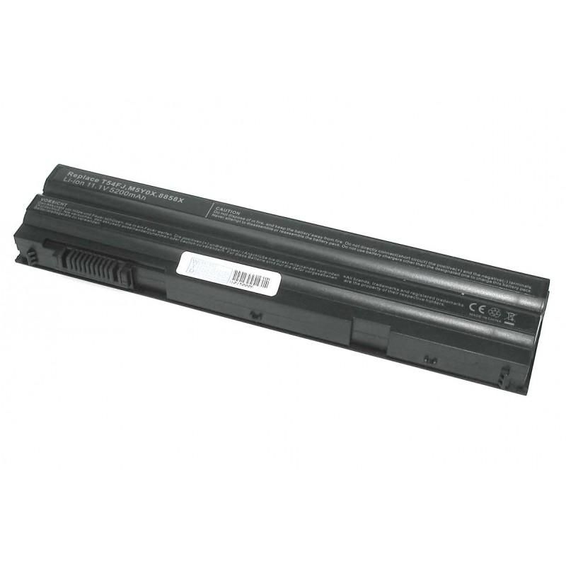 Аккумуляторная батарея T54FJ (4NW9) для ноутбука Dell Latitude E6420 5200mAh OEM черная