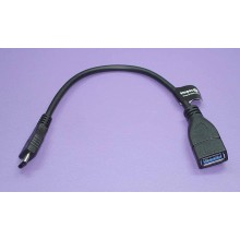 Кабель AI-TCOTG для зарядки и синхронизации Type C на USB 3.0 AF (OTG) черный