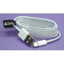 Кабель AI-LUSB для зарядки и синхронизации Lightning на USB 2.0 белый