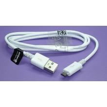 Кабель AI-MUSBW для зарядки и синхронизации MicroUSB на USB 2.0 белый