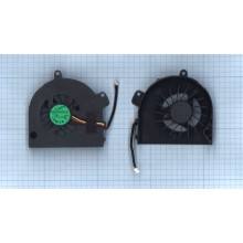 Вентилятор (кулер) для ноутбука TOSHIBA Satellite A500 A505(Intel дискретная видеокарта без крышки)