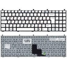 Клавиатура для ноутбука DNS W765S белая
