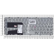 Клавиатура для ноутбука HP Pavilion 14-E черная с рамкой