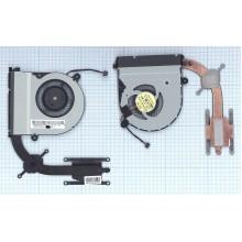 Система охлаждения для ноутбука Asus Transformer Book Flip TP300 в сборе