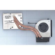 Система охлаждения для ноутбука HP ZBook 17 в сборе