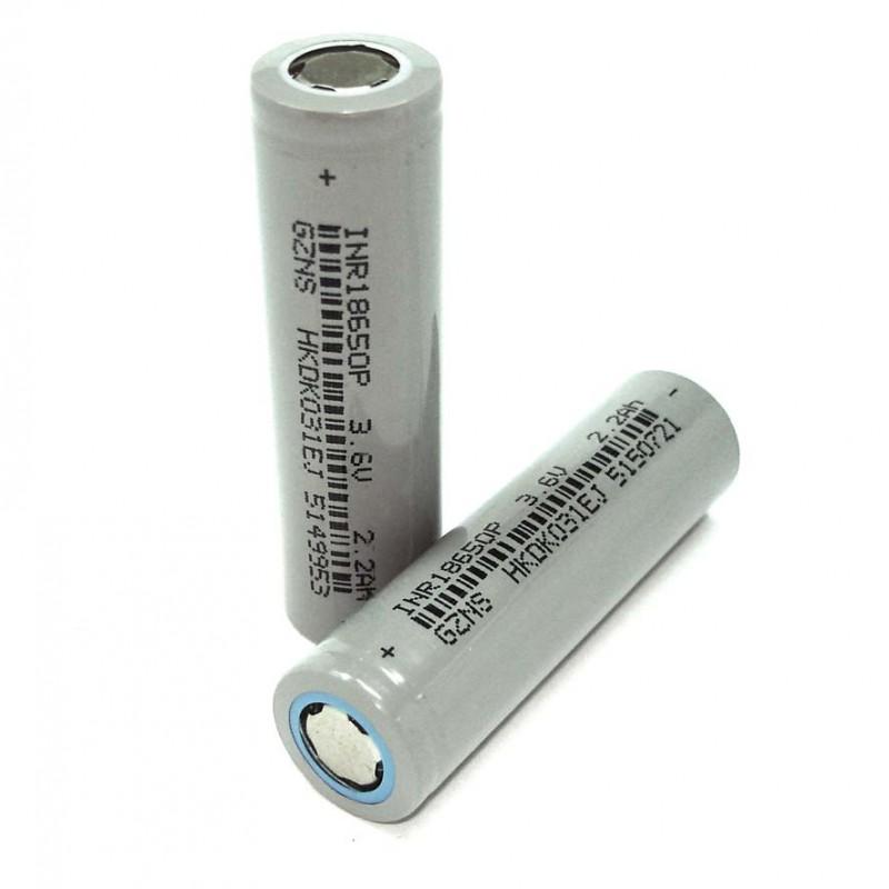 Аккумулятор типа 18650 2200mAh 3.7V 8.2Wh SZNS