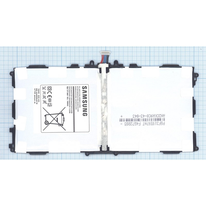 Аккумуляторная батарея T8220E для Samsung Galaxy Note SM-P600, SM-P601