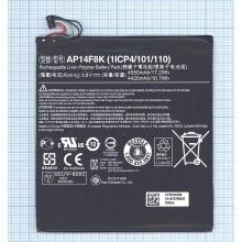 Аккумуляторная батарея AP14F8K для Acer Iconia One B1-850, Tab W1-810