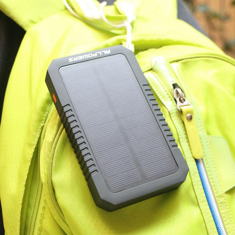 Универсальный внешний аккумулятор ALLPOWERS AP-S12000 Solar Charger 12000mAh ORIGINAL