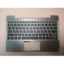 Клавиатура для ноутбука ASUS Transformer Pad TF201 черная ТОПКЕЙС золото оригинал