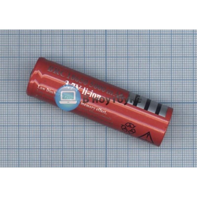 Аккумулятор Li-Ion BRC 18650 5000mAh 3.7V