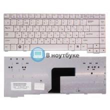 Клавиатура для ноутбука LG R40 R400 белая