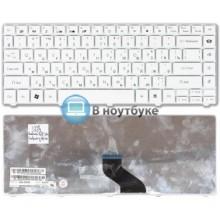 Клавиатура для ноутбука Gateway NV49C NV49C01c NV49C13c NV49C14c белая
