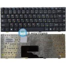 Клавиатура для ноутбука MSI Megabook S250 S260 S262 S262W S270 S271 черная