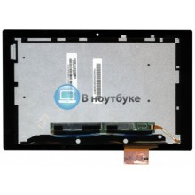 Модуль (матрица + тачскрин) Sony Xperia Tablet Z склейка скотчем