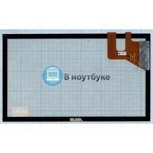 Сенсорное стекло (тачскрин) Asus 5322S FPC-1 REV:3 черный