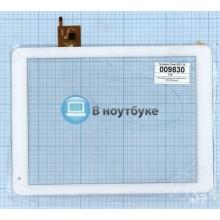 Сенсорное стекло (тачскрин) Texet 9757 3G белый