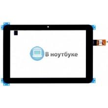 Сенсорное стекло (тачскрин) HP Slate 10 HD черное