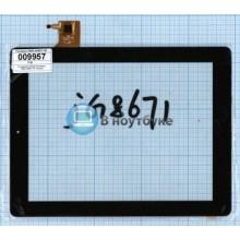 Сенсорное стекло (тачскрин) PB97JG8671-R1 черный