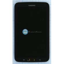 Модуль (матрица + тачскрин ) Samsung Galaxy Tab 3 7.0 P3210 SM-T210 черный с рамкой