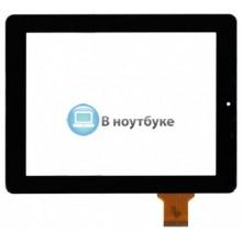 Сенсорное стекло (тачскрин) HLD-GG1003S черный