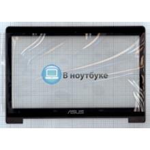 Сенсорное стекло (тачскрин) Asus S400 5343R FPC-1 черное с рамкой
