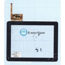 Сенсорное стекло (тачскрин) DPT 300-l3456B-A00 ver1.0 черный