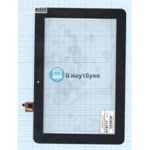 Сенсорное стекло (тачскрин) WGJ1073-V3 черный