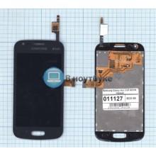 Модуль (матрица + тачскрин) Samsung Galaxy Ace 3 GT-S7270 черный