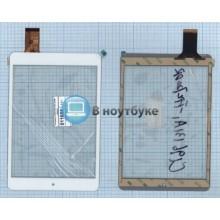 Сенсорное стекло (тачскрин) C196131A1-FPC720DR белый