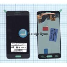 Модуль (матрица + тачскрин) Samsung Galaxy Alpha SM-G850F черный