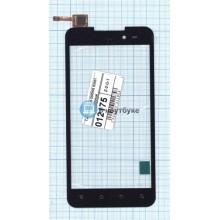 Сенсорное стекло (тачскрин) DNS S5001 черный