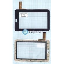 Сенсорное стекло (тачскрин) 0096-V02 H черное