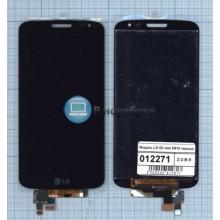 Модуль (матрица + тачскрин) LG G2 mini D618 черный