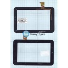 Сенсорное стекло (тачскрин) WGJ7394-V2 черный