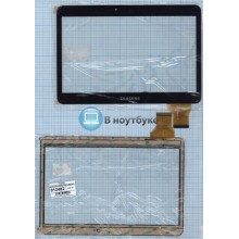 Сенсорное стекло (тачскрин) YCG-C10.1-182B-01-F-01 черный
