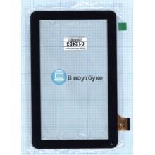 Сенсорное стекло (тачскрин) FM102101KA черный