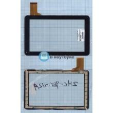Сенсорное стекло (тачскрин) MF-393-090F-2 FPC черный